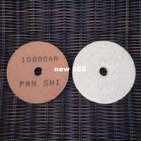 "3 ""(80mm) Diamond Sponge Almofadas De Polimento Mármore Gloss Pad Pedra Abrasivo Folhas Lixadeira Disc Disco De Lixa 30 pçs / lote"
