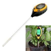 Wholesale- multi-functie 4 in 1 tuinplant bodemonderzoek instrument zonlicht / vocht / licht / pH-tester meter analyzer voor planten