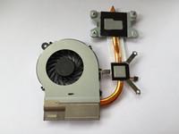 nouveau refroidisseur 657941-001 649953-001 pour radiateur de refroidissement pour HP G4 G6 G7 G4-1000 G6-1000 G7-1000 avec ventilateur 4GR23HSTP40