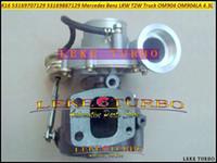 2002-08 OM904LA OM904 4.3 К16 7129 53169707129 53169887129 9040968599 турбонагнетатель для тележки Мерседес Бенц спортивный T2W л
