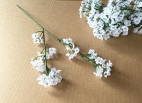 2 colors Gypsophila Baby' s Breath Artificial Fake Silk ...