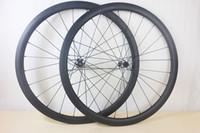 U شكل الطريق قرص عجلات الكربون 38 ملليمتر الفاصلة لايحتاج مستقيم سحب cyclocross cx الدراجة العجلات qr أو الظهور المحور shn 10 ثانية 11 ثانية xx1 xd