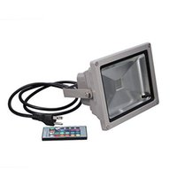 20W 방수 RGB LED 홍수 빛 스포트 라이트 16 Differnt Color Changing + Remote controller