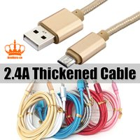 2. 4A Nylon Braided Thickened 1M 2M 3M 3FT 6FT 10FT Charging ...
