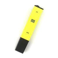 Dijital pH metre su test cihazı kalem 0-14 ph yüksek akvaryum toprak gıda laboratuar pH monitör ATC için yüksek