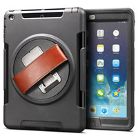 For iPad Case Heavy Duty Hybrid Case for iPad 2 3 4 iPad 5 A...