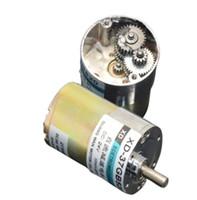 Darmowa wysyłka DC Micro-silnik o niskiej prędkości Wysoki moment obrotowy Silnik przekładniowy silnikowy silnik do sprzedaży