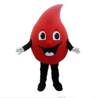 2017 مصنع صنع الأحمر قطرة من الدم التميمة حلي يتوهم اللباس هالوين الفنتازيا التميمة حلي لل أنشطة الرفاهية العامة