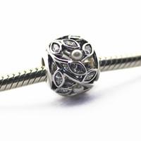 Gevşek Boncuk ile otantik 925 Gümüş boncuk cz Aydınlık Yapraklar Pandora Bilezikler DIY Takı için uyar 2016 yeni anneler günü