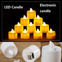 LED Candle light Tea Lights battery power Flicker Flameless ...