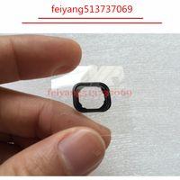 100 sztuk Nowy Przycisk Home Holding Guma Uszczelka Spacer dla iPhone 5 5C 5S 6 6S 6 Plus Naklejka samoprzylepna