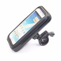 S / M / L / XL Taille Sac à vélo étanche Sac de vélo Titulaire du support de montage à vélo pour téléphone mobile