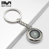 MLJY Kompass Keychain Reifenförmige Kompass Dekoration Tasche Legierung Schlüsselanhänger Uhr Stil Abenteuer Camping Wandern Kreatives Geschenk