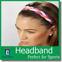 Dames haarband gevlochten mini-hoofdbandbanden