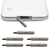 Pour Samsung Galaxy S5 G900 G900F G900T G900V G900H VS G900A G900p Nouveau dock original port de charge du chargeur USB boîtier Housse étanche Branchez