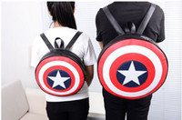Marvel the Avengers Captain America Shield Fashion Backpack ...