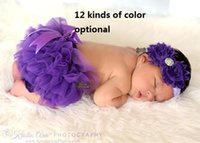 Girls Short Pants Cotton Layers Chiffon Ruffled Newborn Bloo...