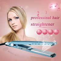 Hot and NEW! PRO Na-No! TITANIUM 1 1 4 plate Flat Iron Ionic Hair Straightener free ship