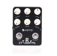 Preto JOYO JF-17 Guitarra Violao Efeito Guitarra Pedal Peças Metal Extremo Distortion para instrumento musical eletrônico 2014 Novo