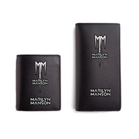 Marilyn Manson Wallets Black PU Short Purse Men Women Cartei...