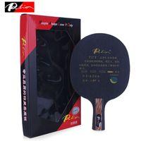 17fdf0247 Raquete de tênis de mesa original Palio bladeTCT 5 (madeira) +2 (Ti) +2  (carbono) ataque   Loop Ping Pong Bat paddle Tenis De Mesa