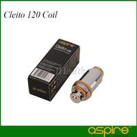 Aspire Cleito 120 Testina sostituzione bobina 0.16ohm nominale a 120 W Cleito 120 Testata bobina Aspire Cleito 120 bobina bobina 0,15ohm
