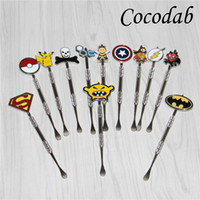 100pcs Smoking Wax dabbers Dabbing tool with fashion sticker...