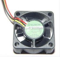 SUNON 4020 KD1204PKV2 KD1204PKB2 ventilador de enfriamiento cuadrado con 12V 0.8W 3-hilos Server Fan
