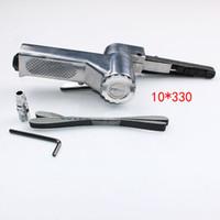 Yüksek Kalite 10 MM * 330 Pnömatik Kayış Zımpara Hava Taşlama Makinesi Parlatıcı Aracı