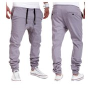 New Mens Joggers Mâle Harem Pantalon Casual Loose Sports Wear Vêtements Pantalons Pantalons De Jogging Jogger Grande Taille