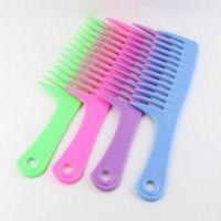Parrucca capelli coreano pettine pettine denti strumenti di plastica