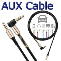AUX Audio Cable For Studio Headphone 3FT 1M 3. 5MM L- Shaped 9...