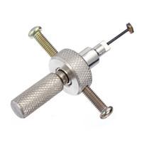 고품질 뜨거운 판매 디스크 텀블러 lockpick 디스크 detainer 자물쇠 전문 자물쇠 도구를 선택 스테인리스 실버