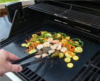 Wiederverwendbar Nein Stick BBQ Grill Bratmatte Sheet Tragbare Easy Clean Outdoor Picknick Kochen und Backen Grillgerät
