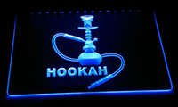 LD119- b Hookah Neon Light Sign Decor Free Shipping Dropshipp...