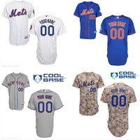 Custom New York Mets Alternate Blue Jersey New York Mets Per...