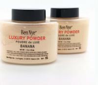 2017 !! Ben Nye polvo de lujo 42g Nueva cara natural de polvo suelto a prueba de agua nutritiva plátano alegra EUB USPS