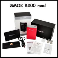 Hot Authentic SMOK R200 TC Mod 200W Tempearature Control Box...
