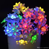Promotion 7m Led Solar String Flower 50 Led Decoration Light...