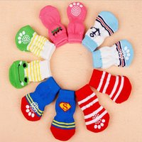 5set   lot Small Pet Dog Doggy Shoes Cat Puppy Lovely Soft W...
