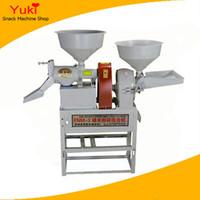 Fraiseuse de riz de prix de machines de moulin de riz à la maison mini avec la machine de meulage de poudre de piment de broyeur de maïs