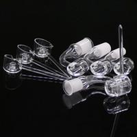 Nail vendita caldi 4 millimetri Club Banger Quarzo con Quarzo Carb Cap fornitore professionista quarzo prodotti per unghie per Bong Bong di vetro Oil Rigs