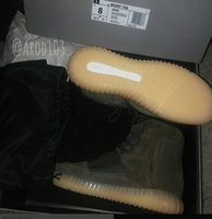 Top quality Kanye West 750 Boost Light Grey Glow in the dark...