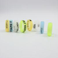 Нескользящая Vape группа светящиеся силиконовые кольца световой Ecigarette кремния защитные кольца для электронных сигарет модов RDA