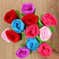 Free Shipping 12pcs lot Cute Design Plush Rose Ballpoint Pen...