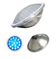 25W AC / DC 12V IP68 imperméable à l'eau LED piscine légère RVB en acier inoxydable LED haute puissance LED Par56 spot lampe