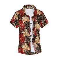 Wholesale- 2016 Men' s Short Sleeved Summer Shirt Fashion ...