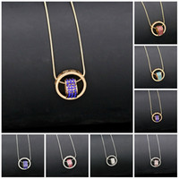 Necklace for Women 2016 Double Necklaces & Pendants 18K Gold...