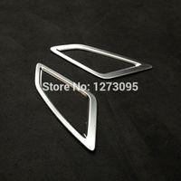 Per Mazda 3 2014 2015 2016 bicromato di potassio anteriore Cruscotto Aria condizionata AC Vent outlet copertura motivi ornamentali Sticker Accessori auto