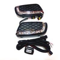 Luglio Re LED Daytime Running Lights caso per Smart Fortwo 2008-2011, LED 6000K bianco paraurti anteriore DRL, 1: 1 sostituzione, trasporto veloce